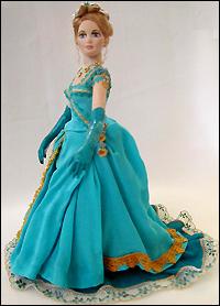 Кукла для кукольного домика из flumo