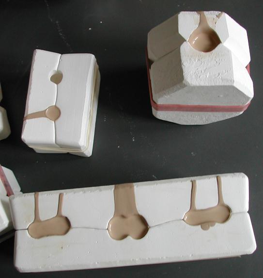 Как сделать форму для фарфоровой куклы