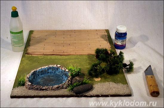 Японский сад в миниатюре