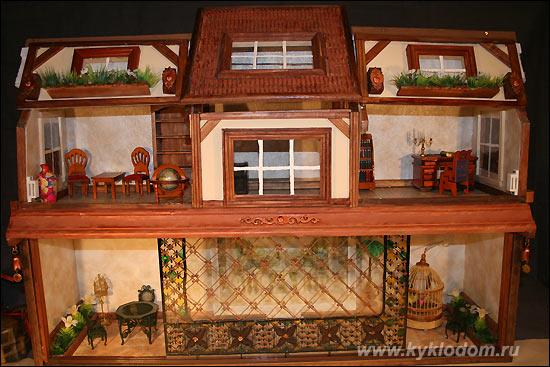 Кукольный домик авторский