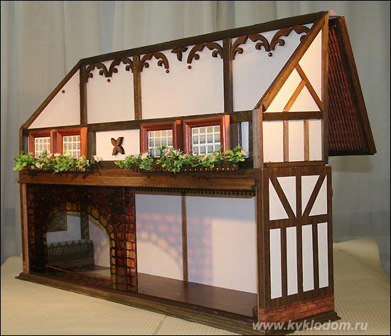 Крыша для кукольного домика своими руками 100