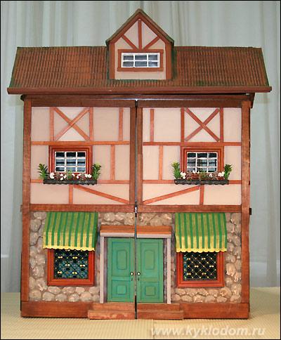 Мастер классы по изготовлению кукольных домов