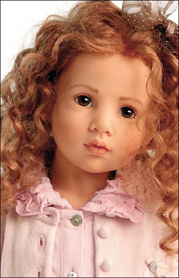 Юбилейная коллекция кукол хильдегард гюнцель hildegard gunzel