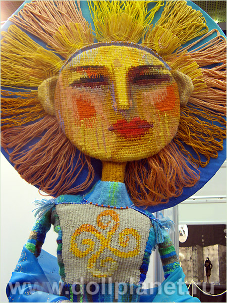 Авторская кукла-гобелен Марии Бохан