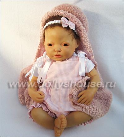 Кукла Герлинде Фезер в стиле реборн. Gerlinde Feser