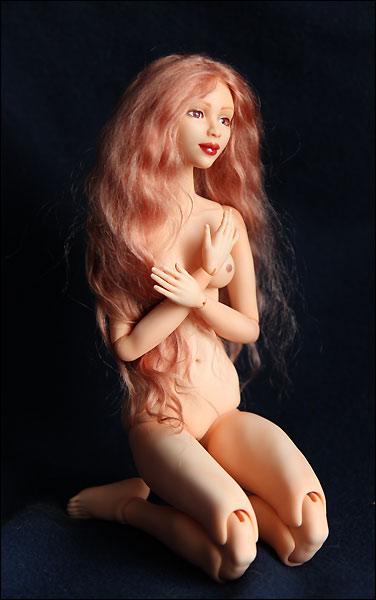 Шарнирные куклы из запекаемого пластика мастер класс