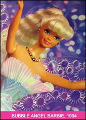 Кукла Барби 1990х Bubble Angel Barbie