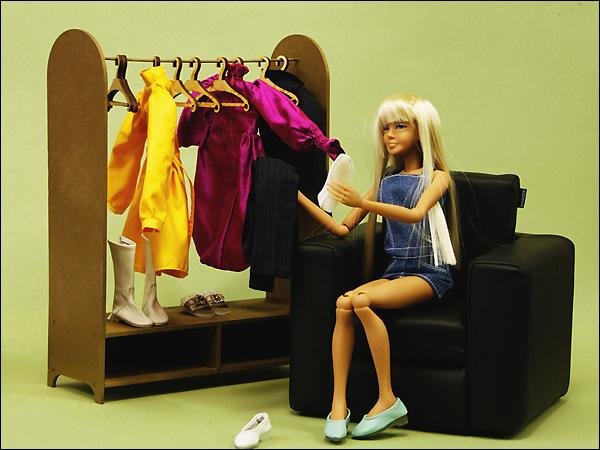 Сделать мебель своими руками для куклы барби