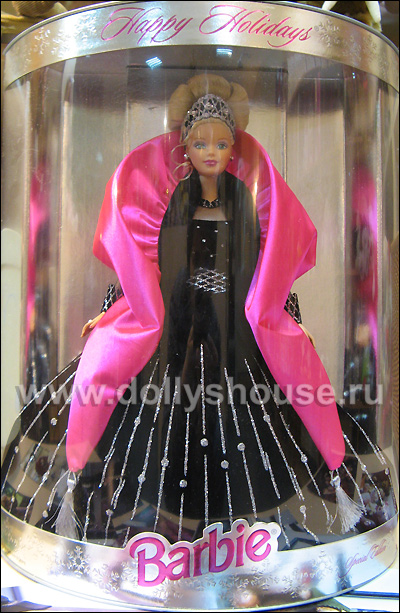 Happy holidays barbie 1998 напоминает escada barbie то