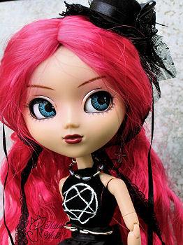 Кукла Pullip Cornice в авторском костюме от Cajsa Nordlund