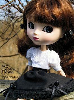 Кукла Pullip Greggia в авторском костюме от Cajsa Nordlund