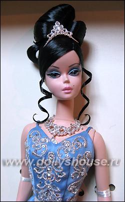 Коллекционная барби кукла barbie silkstone