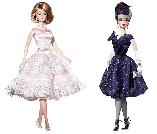Коллекционные Барби. Southern Plantation Belle Barbie, Parisienne Pretty Barbie