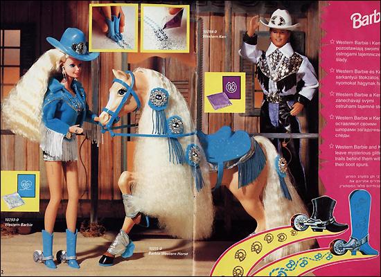 Куклы барби и кен western stin barbie ken
