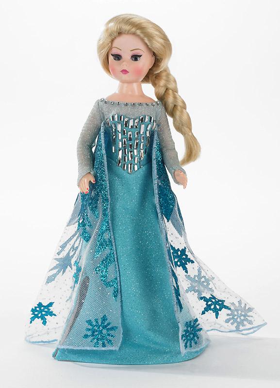 Сшить куклу эльзу из холодного сердца 16