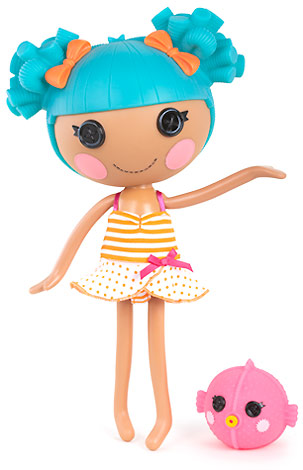 Кукла Лалалупси русалка в купальном костюме
