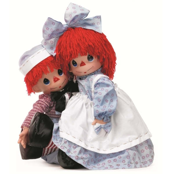 Коллекционные куклы Precious Moments Raggedy Ann and Andy