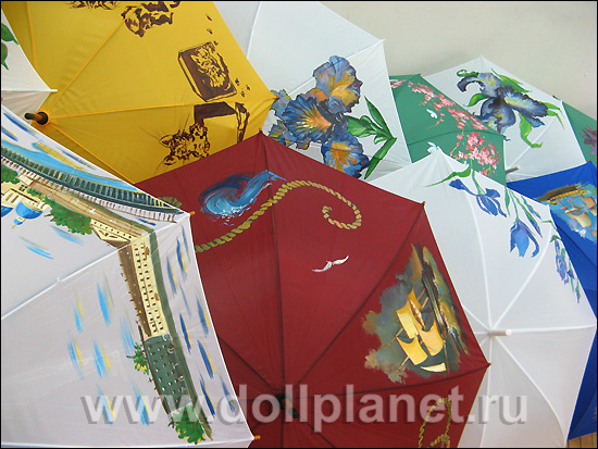 Мастер классы по росписи зонтов 171