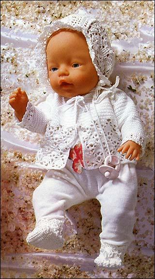 как сшить комбинезон для куклы с выкройкой беби бон с переводом.