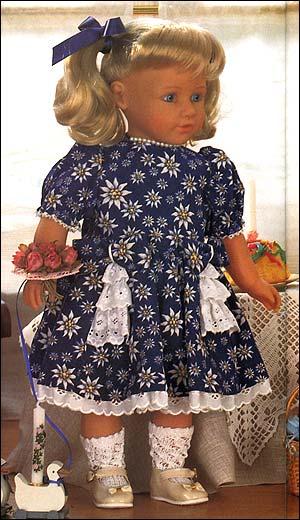 Бальные платья для кукол.Выкройка.  Нашла шикарную подборку бальных.