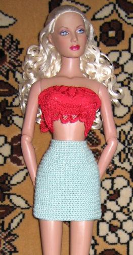 Как юбка для куклы винкс