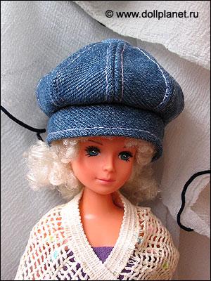Берет для куклы fashion doll
