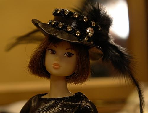 Шляпка для куклы Momoko
