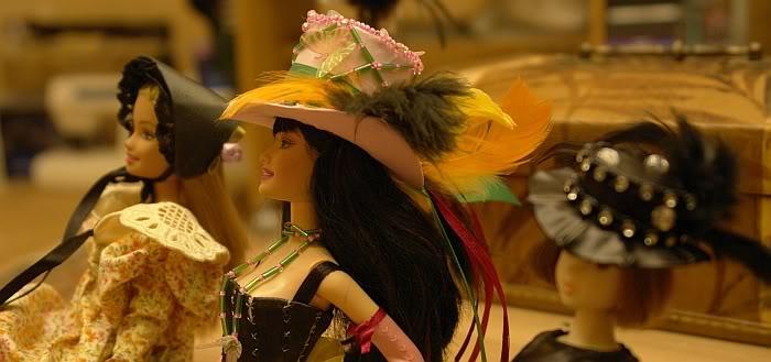 шляпки для кукол Барби