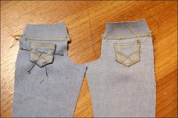 Сшить джинсы