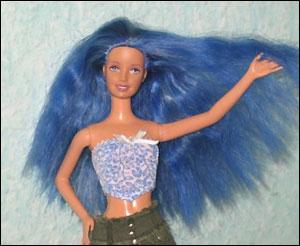 Можно ли покрасить волосы кукле