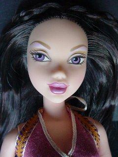 Кукла My Scene от Mattel, вид до перерисовки