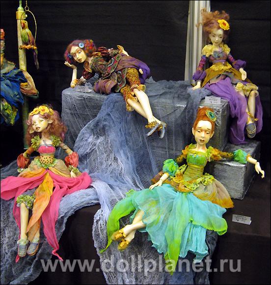 Шарнирные авторские куклы Виолетты Мельниковой