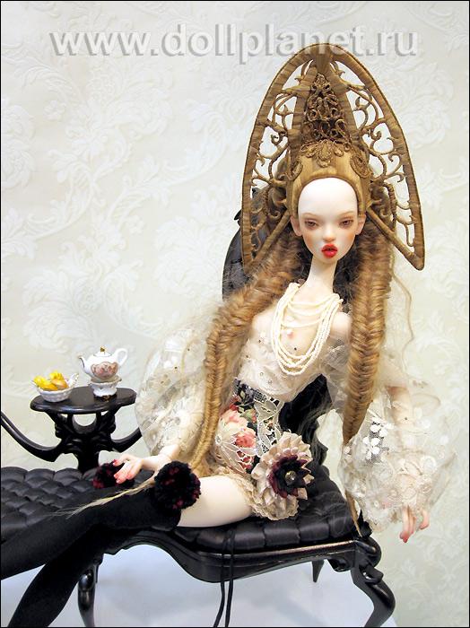 SISTERS. Graceful BJD dolls by Ekaterina and Elena Popovy